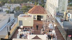 Hollywood Roosevelt Hotel Rooftop Ceremony