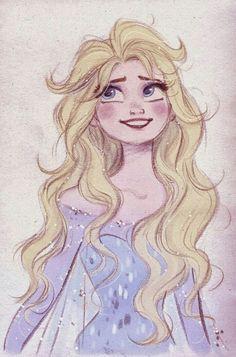 Elsa despeinada