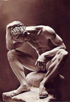 Male Body Art, Anatomy Sculpture, Greek Statues, Roman Sculpture, Art Of Man, Anatomy Art, Classical Art, Gay Art, Renaissance Art