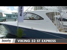 2015 Viking 52 ST: First Look Video