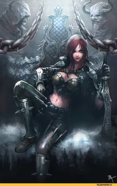 Katarina-League-of-Legends-фэндомы-1792300.jpeg (615×960)