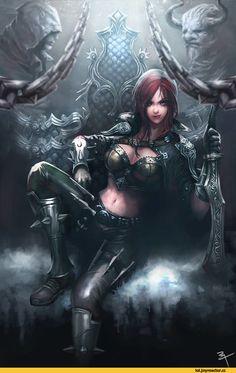 Katarina-League-of-Legends-фэндомы-1792300.jpeg (615×960)
