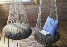 Old tires recycling Hammock Chair, Hanging Chair, Diy Home Crafts, Diy Craft Projects, Facade House, Diy Table, Creative Home, Furniture Decor, Room Decor