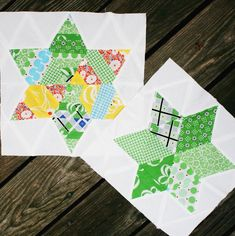 Six Pointed Star Block Tutorial // Summer Sampler Series — Swim Bike Quilt Quilting Tutorials, Quilting Projects, Quilting Designs, Vintage Quilts Patterns, Star Quilt Patterns, Star Quilt Blocks, Star Quilts, Scrappy Quilts, Triangle Template