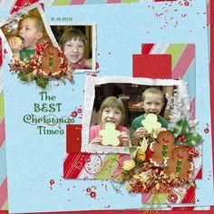 Christmas Tradition 12x12 Templates