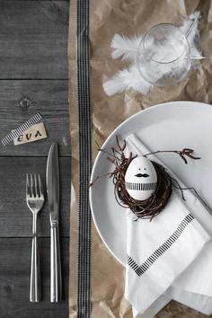 Low-budget tafel dekken voor de paasbrunch