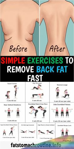 Fitness Workouts, Gym Workout Tips, Fitness Workout For Women, Toning Workouts, Easy Workouts, At Home Workouts For Women, Back Fat Workout, Workout For Flat Stomach, Simple Ab Workout