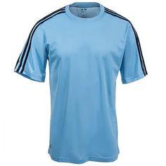 Adidas Men/'s climalite 3-Stripes Performance T-Shirt Gym Exercise S-3XL A72