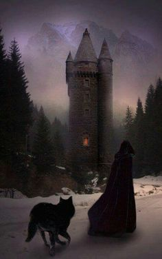 The wolf danced excitedly around the witch, for it knew as well as she that…