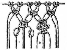 3790 best Macrame Tutorials and Knots images on Pinterest