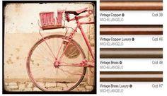 Finiture #vintage rame e ottone: per esprimere al meglio il tuo animo retrò! // Vintage copper and brass finishes: to express your retrò mood!