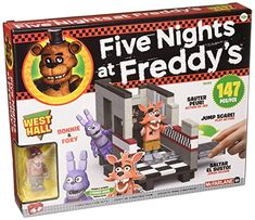 Jouet McFarlane 5 Cinq Nights at Freddy/'s porte petite Construction Building Set 12