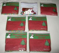 Crafts -N- Things for Children: Snowman Soup with Free Printable Recipe Label