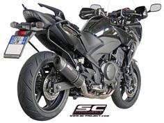 HONDA CBF 1000 '10-14 EXHAUST BY SC-PROJECT Yamaha Tmax, Yamaha Mt 09, Honda, Motorcycle Exhaust, Exhausted, Champion, Bike, Vehicles, Projects