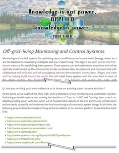Control Systems Page - Click to Visit, http://www.onecommunityglobal.org/control-systems/