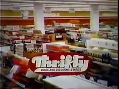 "Thrifty ad, 1979 Spot for the SoCal drug/discount store chain where ""every day's a savings day""."