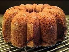 Sour Cream Coffee Cake with Barley Flour Healthy Cake, Healthy Snacks, Healthy Recipes, Barley Flour, Healthy Afternoon Snacks, Sour Cream Coffee Cake, Dessert Recipes, Desserts, Baked Goods