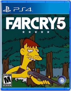 Far Cry 5 Alternate Cover Art