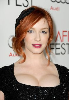 "Christina Hendricks Photos - AFI FEST 2012 Presented By Audi - ""Ginger And Rosa"" Special Screening - Red Carpet - Zimbio"