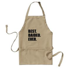 #Best Daideo Ever Irish Grandfather apron - #birthday #gifts #giftideas #present #party