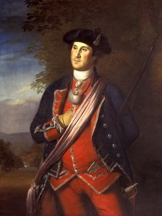 The earliest authenticated portrait of George Washington shows him wearing his colonel's uniform of the Virginia Regiment. This portrait was painted in 1772 by Charles Willson Peale. American Presidents, American War, Us Presidents, Early American, American History, American Life, Conquistador, Young George Washington, Washington And Lee University