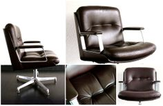 Top 3 woonspullen op zondag | Op twee staat deze super unieke en luxueuze #office #chair van het Italiaans merk #Vaghi. De comfortabele dikke kussens zijn van chocolade bruin leer waarin je heerlijk kunt wegdromen!