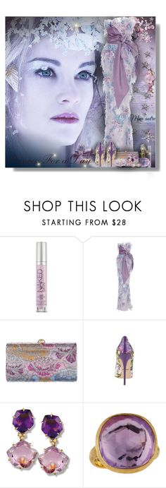 """""""Princess For a Day - Contest!!!"""" by sarahguo ❤ liked on Polyvore featuring Urban Decay, Marchesa, Judith Leiber, Dolce&Gabbana, Marco Bicego and Monet"""