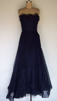 Blue lace vintage 1950's I wish i lived in the 50s!!!!