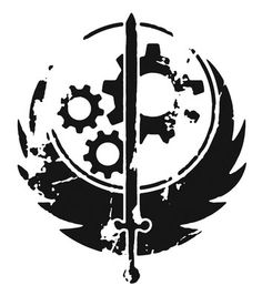 brotherhood of steel tattoo - Google Search