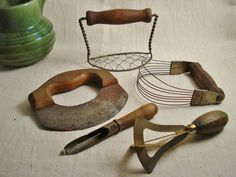 Vintage Mesh Strainer Green Wood Handle Kitchen Tool Antique   Vintage  Kitchen   Pinterest   Tools, Kitchen Tools And Mesh