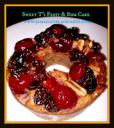 ... rum cake, a delightful and tasty Barbadian fruit cake made with rum