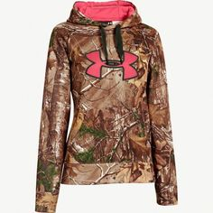 #NEW Women's Under Armour Realtree Xtra Camo Big Logo Hoodie #Realtreecamo