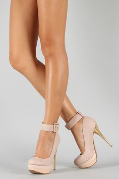 ankle strap platforms...cute!