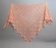 Ravelry: Cupid's Arrow Shawl pattern by Kaitlin Massey Arteaga