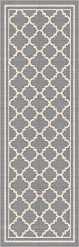 Universal Rugs Garden City Transitional Runner, by Blue Cottage Renovation, Beach Cottages, Coastal Decor, Beautiful Beaches, Rugs, City, Garden, Blue, Amazon