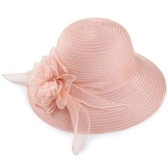 Stylish Gauze Flower Decorated Solid Color Beach Straw Hat For Women Wholesale Hats, Tea Party Hats, Hats Online, Hat Shop, Sammy Dress, Red Lipsticks, Flower Decorations, Hats For Women, Christmas Hats