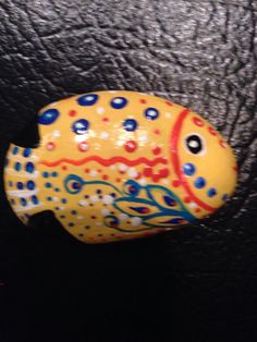 Rock fish by KitcatArtisticDesign on Etsy