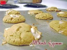Peanut Butter Marshmallow Cookie....not very christmas-y but still delicious