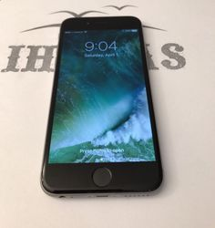 Unlocked Smartphones - Apple iPhone 6 - 128GB - Space Grey (Unlocked) Smartphone