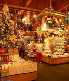 Bronner's Christmas store in Frankenmuth, Michigan. The ultimate ...