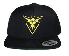 Pokemon Go - Team Mystic, Valor & Instinct Hats - Quality Caps for all Teams (Black Yupoong Instinct): Pokemon Go Team Mystic, All Team, Fashion Brands, Baseball Hats, Cap, Stuff To Buy, Black, Baseball Hat, Baseball Caps