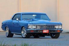 """1966 Custom Chevrolet Chevelle """"Ice Blue"""""""