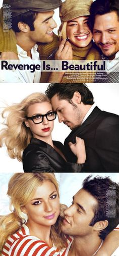 Revenge is beautiful!!  My new favorite show!!