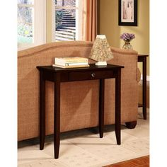 Rosewood Console Table, Coffee Brown