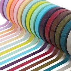 No sabéis la de cosas que se puede hacer con el washi tape (o MT); desde envolver regalos a decorar botes, ventanas... es genial