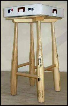 Louisville Slugger Bat Stool Clever but expensive?