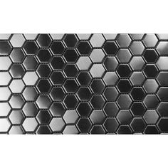 "Martini Mosaic Arnia 12.5"" x 12.5"" Tile in Gray/Black"