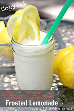 Frosted Lemonade Chick-Fil-A Copycat Recipe - Living Chic Mom