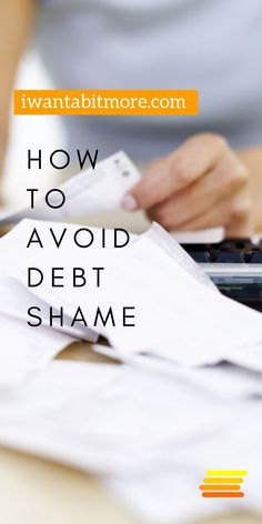 Lucy How to get over the shame of being in debt. Ways To Save Money, Money Tips, Money Saving Tips, Money Hacks, Quitting Your Job, Get Out Of Debt, Managing Your Money, Early Retirement, Investing Money