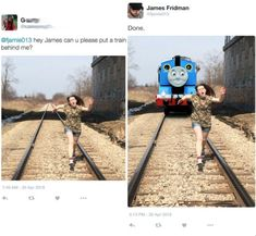 Homicidal Thomas follow LOLFACTORY on tumblr[this funny picture...